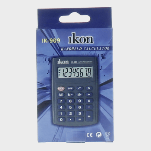 Ikon Handheld Calculator IK-909 Price in Qatar