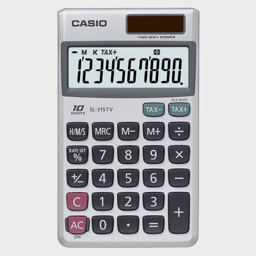 Casio Calculator SL-315TV-W Price in Qatar