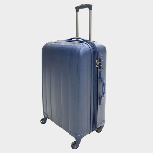 Giordano Saigon Double Zipper 4 Wheel Trolley price in qatar
