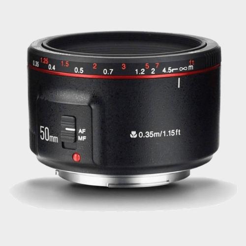 Yongnuo YN 50mm f/1.8 II Lens for Canon EF Lens price in Qatar