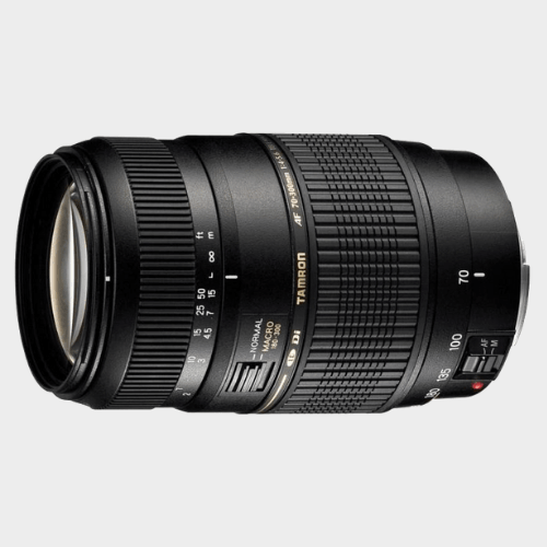 Tamron AF 70 - 300 mm F/4-5.6 Di LD Macro 1:2 for Nikon Digital SLR Lens price in Qatar