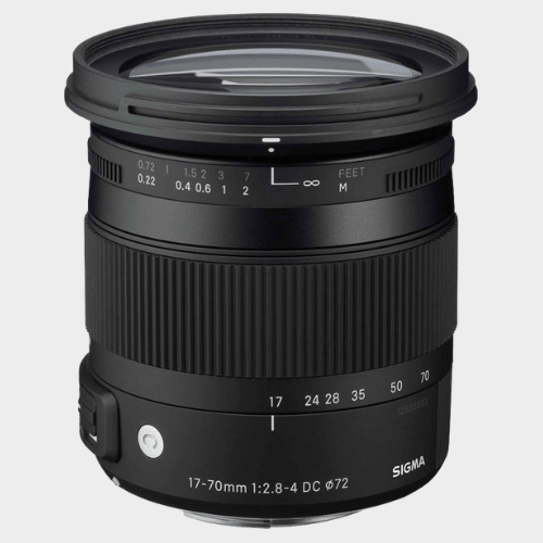 Sigma 17 - 70 mm f/2.8 - 4 DC Macro OS HSM Contemporary Lens for Canon Cameras price in Qatar