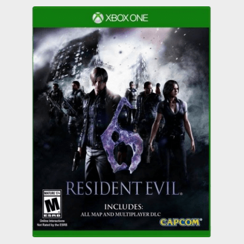 Resident Evil 6 HD Xbox One price in Qatar