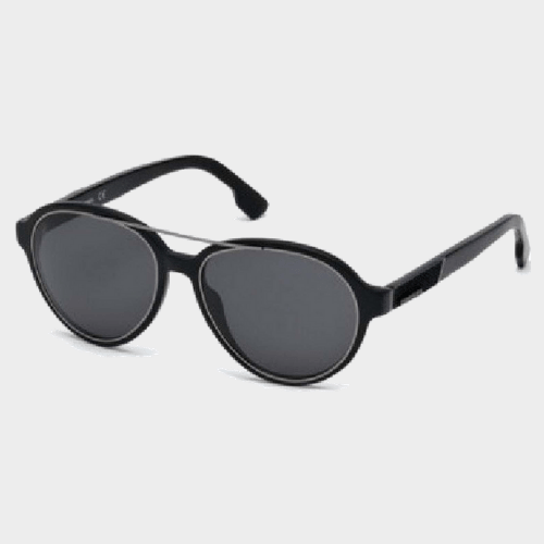 Diesel Men's Sunglass Geometric DL021402A56 Price in Qatar