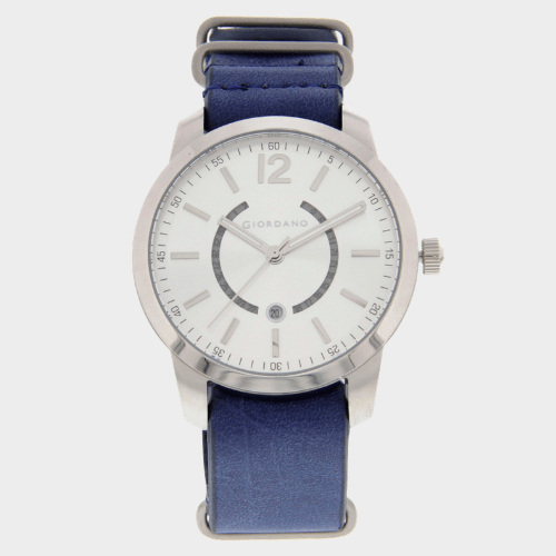 Giordano Men's Analog Watch Blue Strap With White Dial 1791-02 price in Qatar