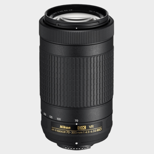 Nikon AF-P DX NIKKOR 70 - 300 mm f/4.5 - 6.3G ED VR Lens price in Qatar