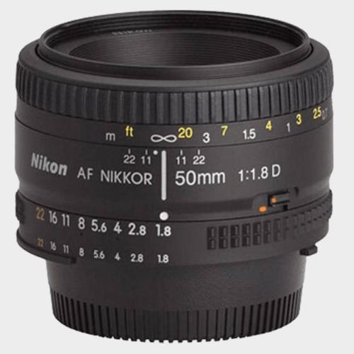 Nikon AF Nikkor 50 mm f/1.8D Lens price in Qatar