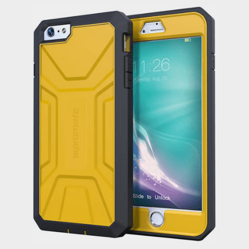 Promate Armor i6P iPhone 6 Plus/6S Plus Case Yellow Price in Qatar