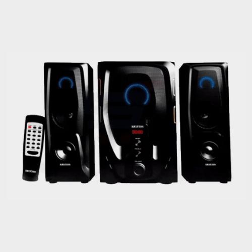 Krypton KNMS5038 2.1 Channel Multimedia Speaker - Black Price in Qatar