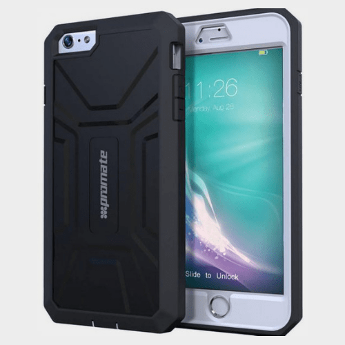 Promate Armor i6P iPhone 6 Plus/6S Plus Case Black Price in Qatar