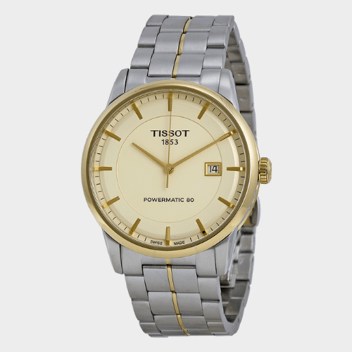 Tissot Powermatic 80 Ivory Men's Watch T0864072226100 Price in Qatar