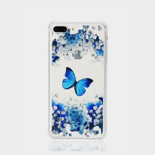 Exquisite Butterfly Pattern Ultra-Thin Anti-Scratch Case price in Qatar