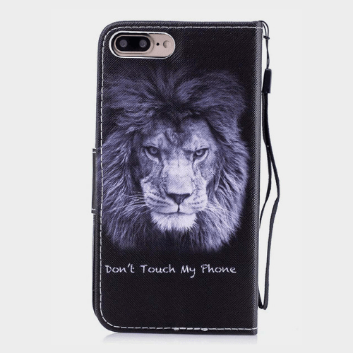 Lion Pattern With Lanyard Case price in Qatar