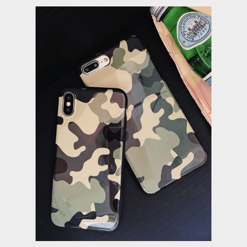 Camouflage Pattern Full Protection Anti-Scratch Cover price in Qatar