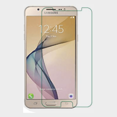 Samsung J7 Prime Compatible Anti Broken Glass- Normal Price in Qatar