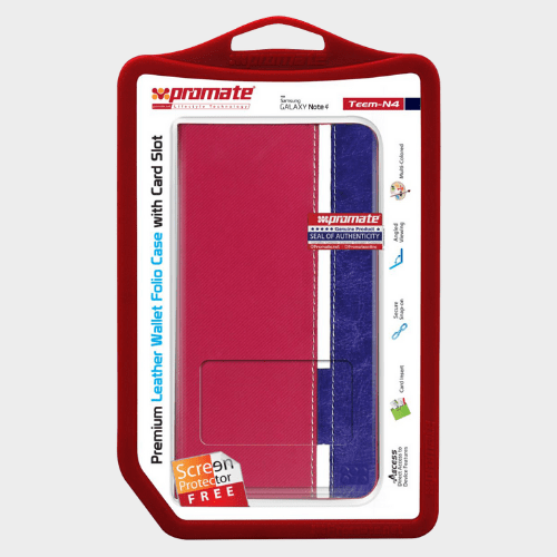 Promate Teem N4 for Samsung Galaxy Note 4 Pink Case Price in Qatar