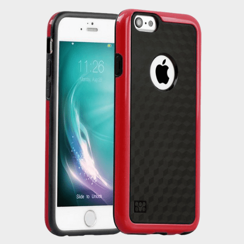 Promate Tagi i6P iPhone 6 Plus/6s Plus Case Maroon Price in Qatar