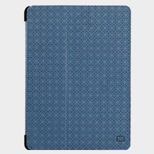 Promate Rouge iPad Air 2 Leather Book-Style Folio Case Blue Price in Qatar