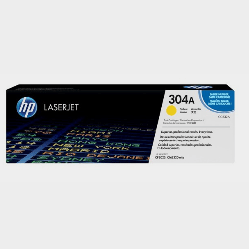 HP 304A Yellow LaserJet Toner Price in Qatar