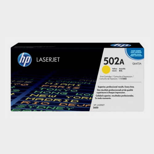 HP 502A Yellow LaserJet Toner Price in Qatar