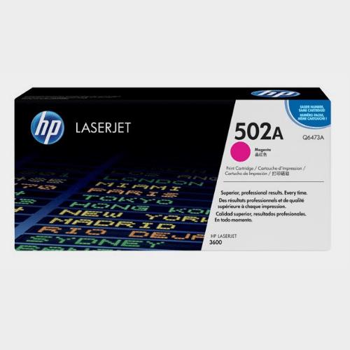 HP 502A Magenta LaserJet Toner Price in Qatar