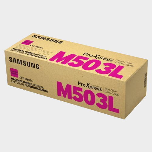 Samsung CLT-M503L High Yield Magenta Toner Cartridge Price in Qatar