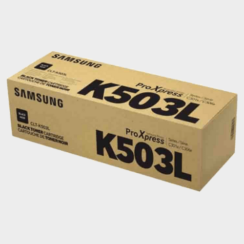 Samsung CLT-K503L High Yield Black Toner Cartridge Price in Qatar