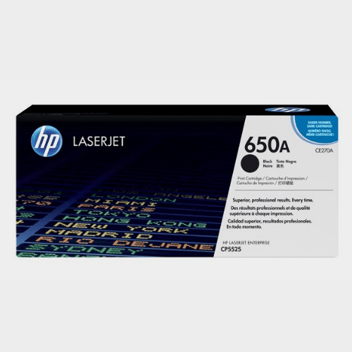 HP 650A Black LaserJet Toner Price in Qatar