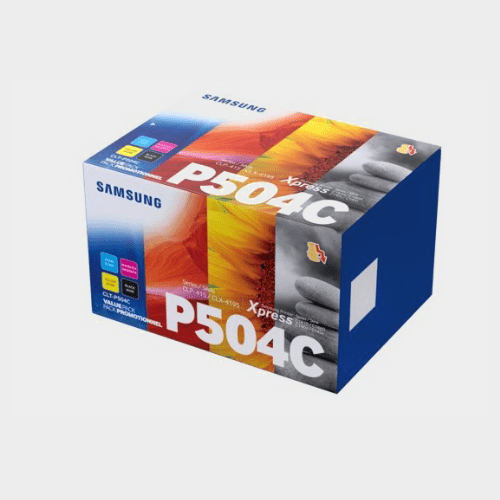 Samsung CLT-P504C 4-Pack Black/Cyan/Magenta/Yellow Toner Cartridges Price in Qatar