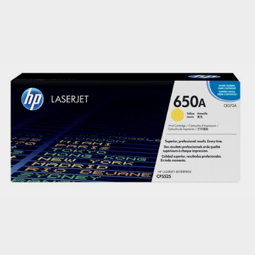 HP 650A Yellow LaserJet Toner Price in Qatar
