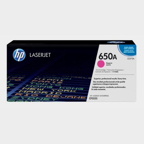 HP 650A Magenta LaserJet Toner Price in Qatar