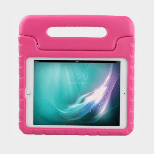 Promate Bamby Air 2 Shockproof Kiddie Case For iPad Air 2 Pink Price in Qatar