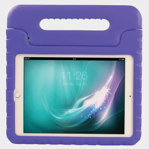 Promate Bamby Air 2 Shockproof Kiddie Case For iPad Air 2 Purple Price in Qatar