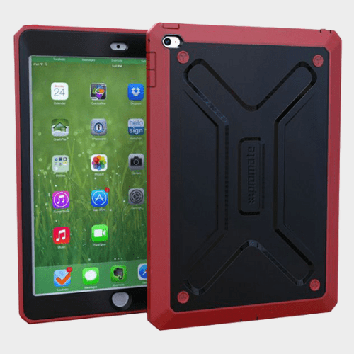 Promate Armor Air 2 Rugged Case For iPad Air 2 Maroon Price in Qatar