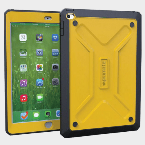 Promate Armor Air 2 Rugged Case For iPad Air 2 Yellow Price in Qatar
