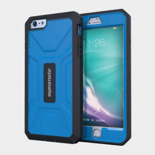 Promate Armor i6P iPhone 6 Plus/6S Plus Case blue Price in Qatar