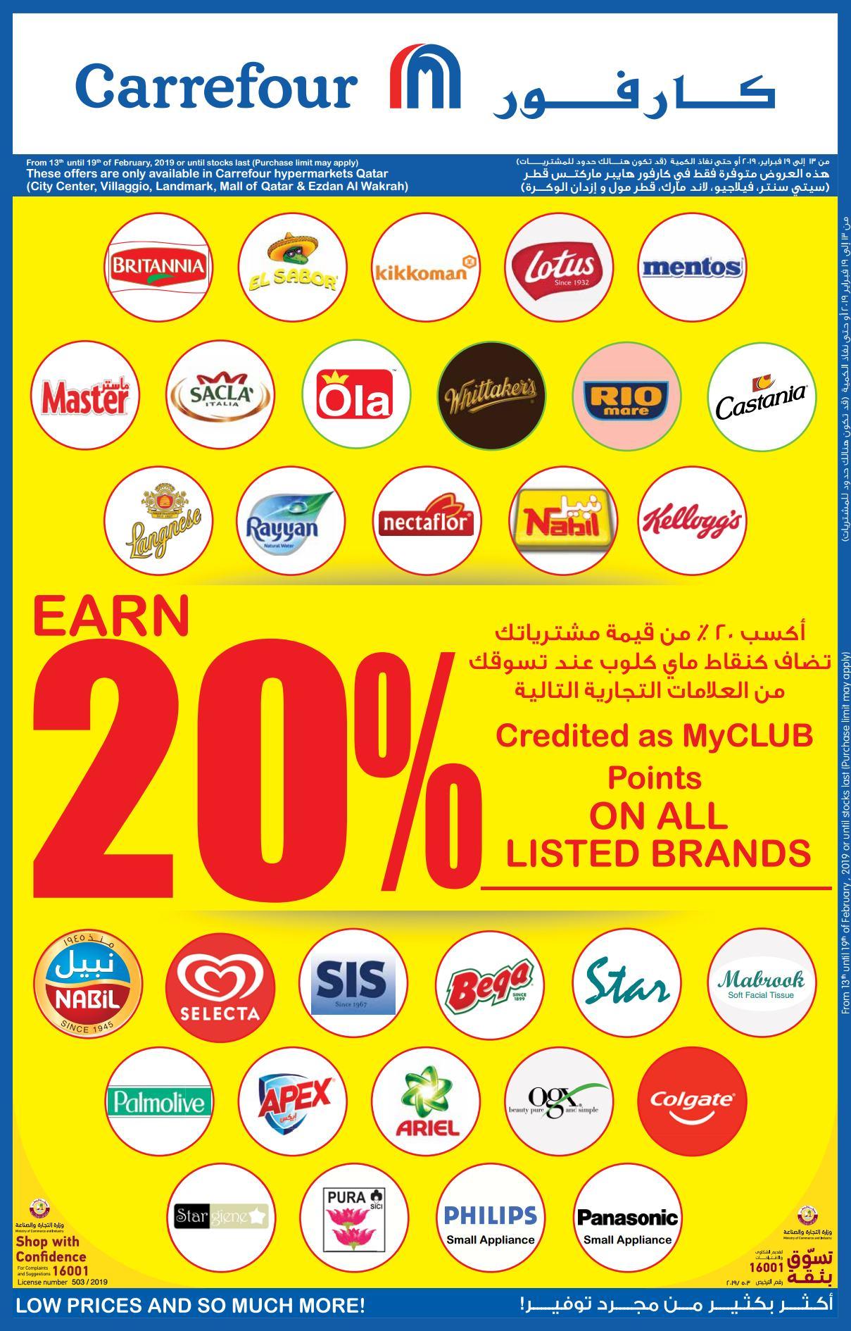 Carrefour Hypermarket Offer till 12-20