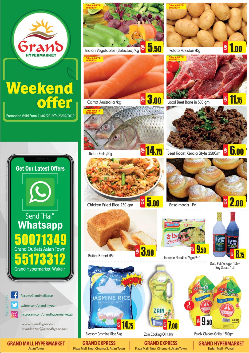 Grand Weekend Offer till 21-02