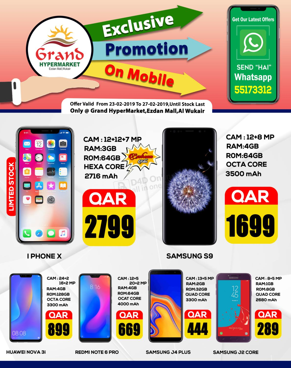 Grand Mobile Offer till 27-02